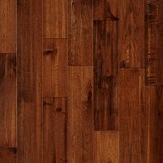 Chestnut Hickory Hand Scraped Solid Hardwood