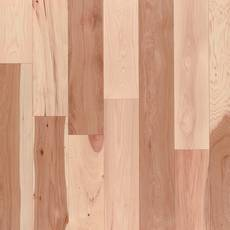 Natural Hickory Smooth Solid Hardwood
