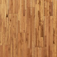Natural Oak Wire Brushed Solid Hardwood