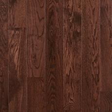 Dark Mocha Oak Smooth Solid Hardwood 3 4in X 5in