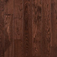 Dark Mocha Oak Smooth Solid Hardwood