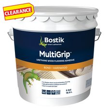 Clearance! Bostik MultiGrip Urethane Wood Flooring Adhesive