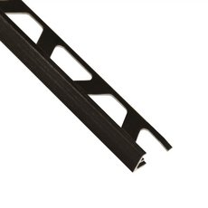 Schluter-Jolly Edge Trim 3/8in. in Brushed Graphite Anodized Aluminum