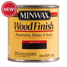 New! Minwax Ebony 2718 Wood Finish Stain