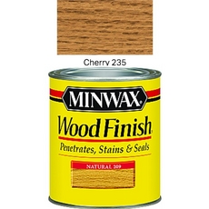 Minwax Cherry Wood Finish
