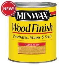 New! Minwax Red Mahogany Wood Finish