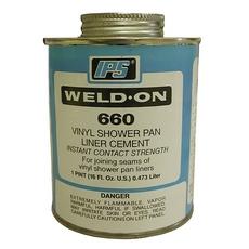 PlumBest IPS Vinyl Shower Pan Liner Cement