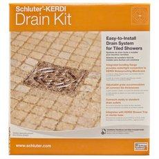 Schluter Kerdi-Drain Bronze PVC Drain Kit