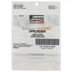 Schluter-Rondec Inside Corner for 5/16in. PVC Bright White Rondec Profile