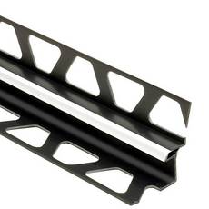 Schluter Dilex-Eke Corner Joint 5/16in. X 9/32in. PVC Bright White
