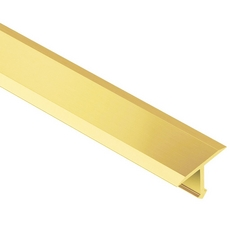 Schluter Reno T Solid Brass 17 32in Metal T Shaped 8ft 2