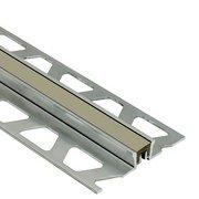 Schluter Dilex-Ksn 7/16in. Aluminum w/ 7/16in. Joint Gray