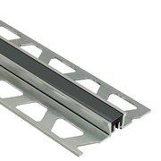 Schluter Dilex-Ksn 17/32in. Aluminum w/ 7/16in. Joint Black