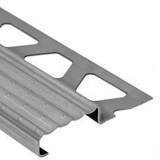 Schluter Trep-E Stair Nosing 5/8in. Stainless Steel