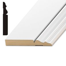 Primed MDF Newport Base Molding