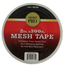 Merit Pro White Mesh Tape