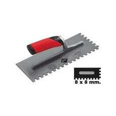 Rubi Stainless Square Notched Trowel