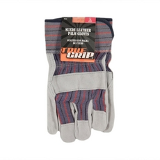 True Grip Suede Leather Palm Gloves Large