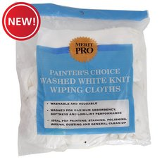 New! Merit Pro Painters Choice Wiping Cloth
