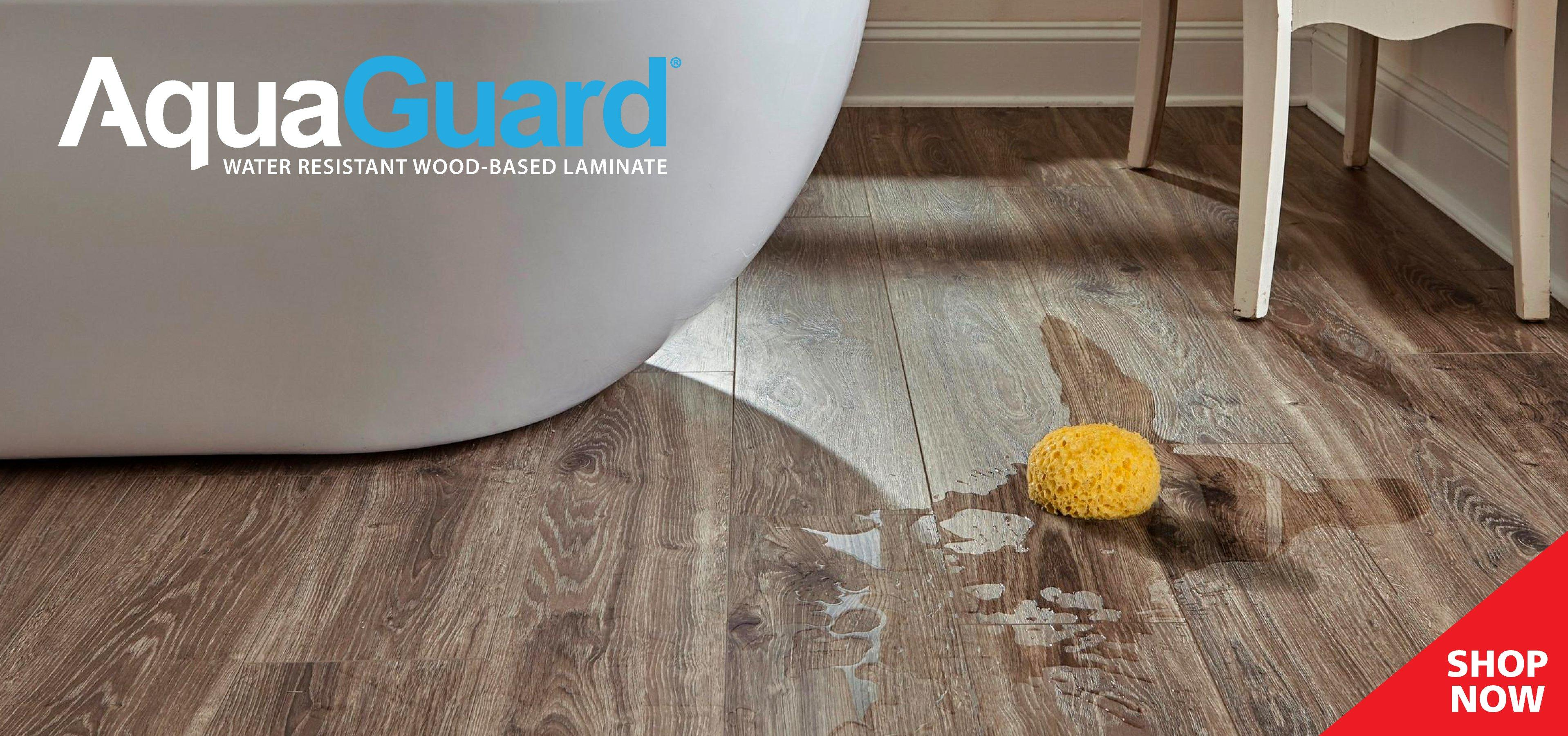 AQUAGUARD WATER RESISTANT LAMINATE. NEW And Exclusive To Floor ...