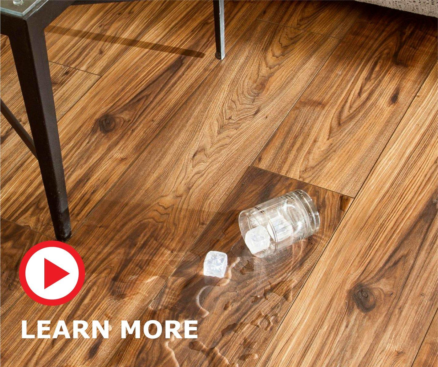 NEW and exclusive to Floor \u0026 Decor AquaGuard ® is a water-resistant laminate that looks and feels like authentic hardwood. There\u0027s now a laminate option ... & Aquaguard ® Laminate | Floor \u0026 Decor