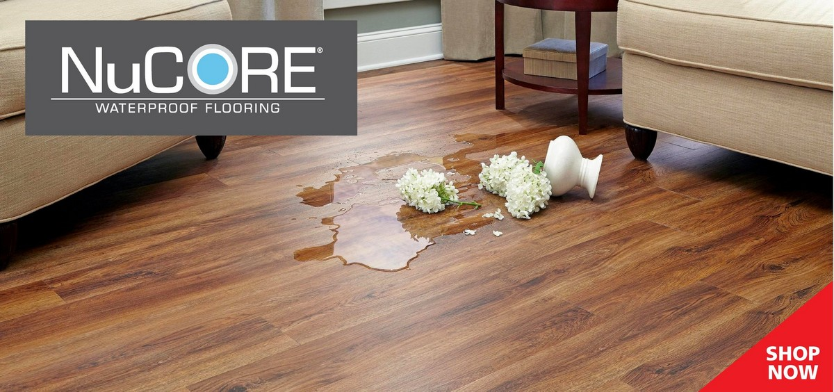 Exclusive To Floor Decor Nucore Is 100 Waterproof Flooring It Looks And Feels Like Wood But Can Be Installed Where Real Cannot