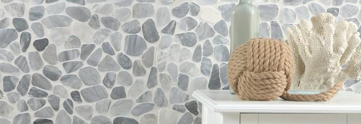 Stone Mosaic Tile Floor Decor