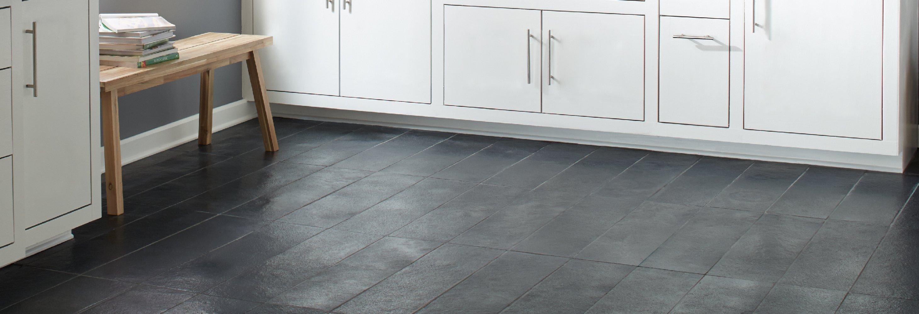 Kitchen Stone Floor Decor
