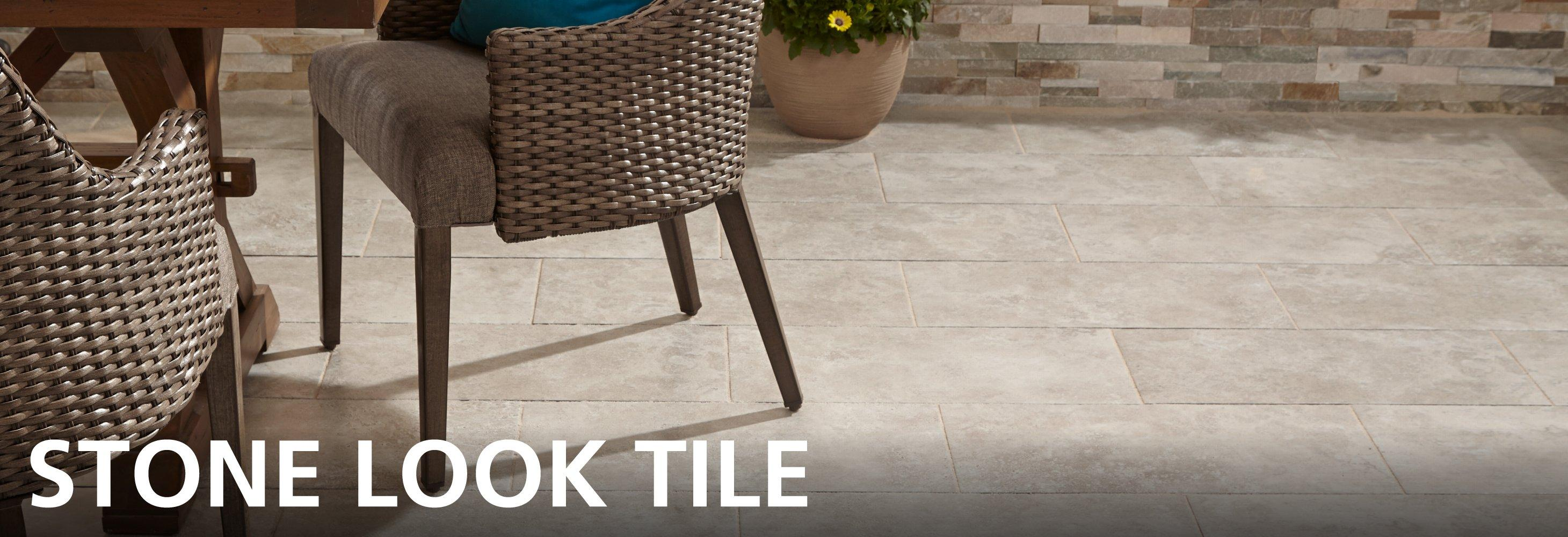 Durable Stone Look Porcelain And Ceramic Flooring Is An Affordable  Alternative To Natural Stone That Looks Great Throughout The House.
