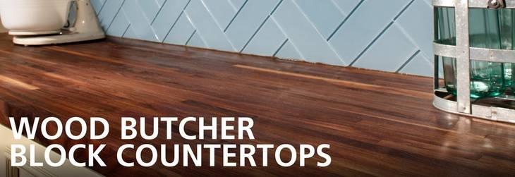 Wood Butcher Block Countertops Floor Amp Decor