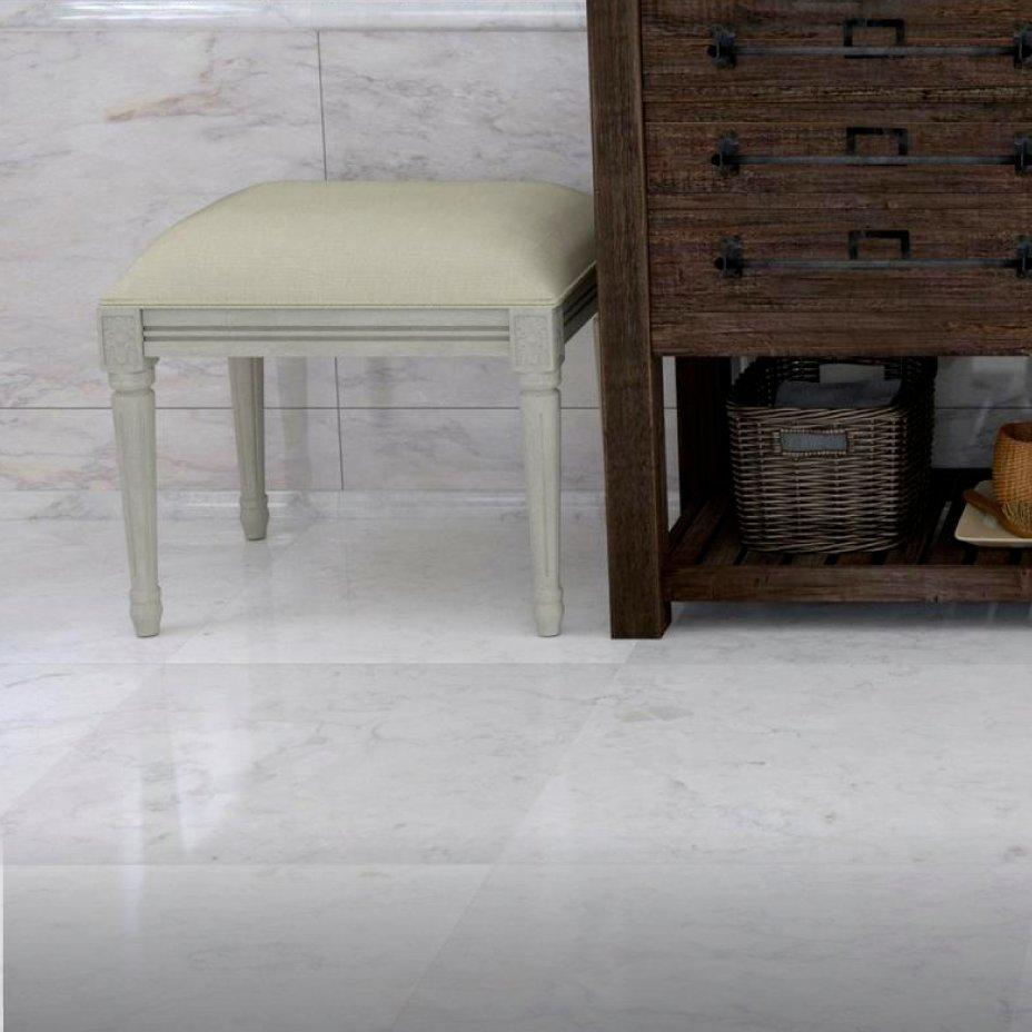 Classic polished wooden entryway bench Mudroom Polished Gabkko Tile Flooring Floor Decor